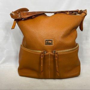 Dooney & Bourke large tan shoulder bag